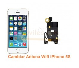 Cambiar Antena Wifi iPhone 5S - Imagen 1