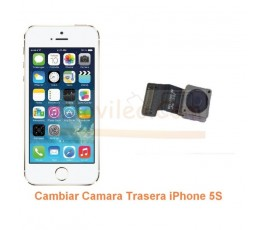 Cambiar Camara Trasera iPhone 5S - Imagen 1