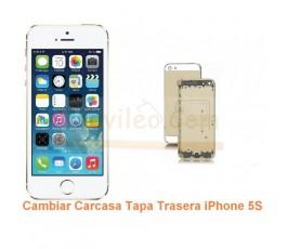 Cambiar Carcasa Tapa Trasera iPhone 5S - Imagen 1