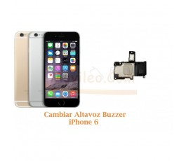 Cambiar Altavoz Buzzer iPhone 6 - Imagen 1