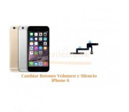 Cambiar Botones Volumen y Silencio iPhone 6 - Imagen 1