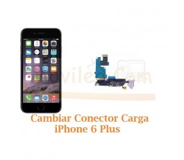 Cambiar Conector Carga iPhone 6 Plus + - Imagen 1