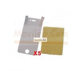 Pack 5 Protectores de Pantalla Mate para iphone 4g 4s - Imagen 1