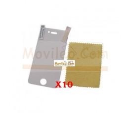 Pack 10 Protectores de Pantalla Mate para iphone 4g 4s - Imagen 1