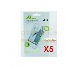 Pack 5 Protectores de Pantalla Transparente iPhone 5S - Imagen 1