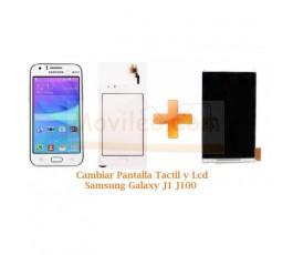 Cambiar Pantalla Tactil y Lcd Samsung Galaxy J1 J100 - Imagen 1