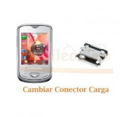 Cambiar Conector Carga Samsung S3370 - Imagen 1