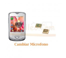 Cambiar Microfono Samsung S3370 - Imagen 1