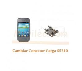 Cambiar Conector Carga Samsung Pocket Neo S5310 - Imagen 1