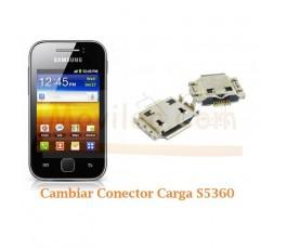 Cambiar Conector Carga Samsung Y S5360 - Imagen 1