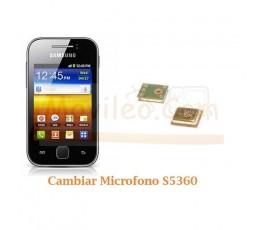 Cambiar Microfono Samsung Y S5360 - Imagen 1