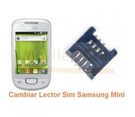 Cambiar Lector Sim Samsung Galaxy Mini s5570 s5570i - Imagen 1