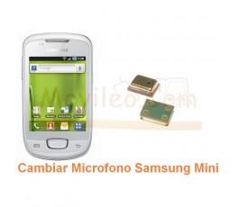 Cambiar Microfono Samsung Galaxy Mini s5570 s5570i - Imagen 1