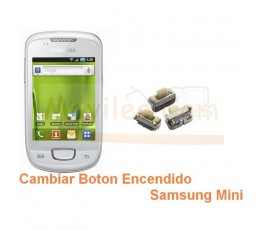 Cambiar Boton Encendido Samsung Galaxy Mini s5570 s5570i - Imagen 1