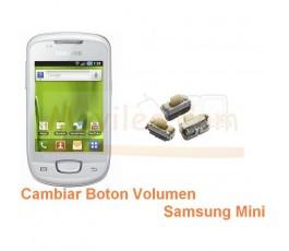 Cambiar Boton Volumen Samsung Galaxy Mini s5570 s5570i - Imagen 1