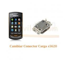 Cambiar Conector Carga Samsung Onix S5620 - Imagen 1