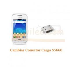 Cambiar Conector Carga Samsung Gio S5660 - Imagen 1