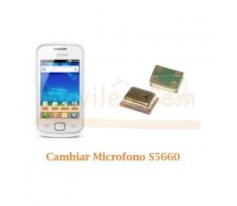 Cambiar Microfono Samsung Gio S5660 - Imagen 1