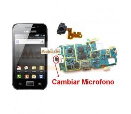 Reparar Microfono Samsung Ace s5830 s5830i - Imagen 1