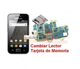 Reparar Lector Tarjeta de Memoria Samsung Ace s5830 s5830i - Imagen 1