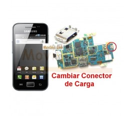 Cambiar Conector Carga Samsung Ace s5830 s5830i - Imagen 1