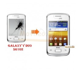 Cambiar Pantalla Lcd Samsung Galaxy Y Duo S6102 - Imagen 1