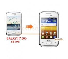 Cambiar Pantalla Tactil (Cristal) Samsung Galaxy Y Duo s6102 - Imagen 1