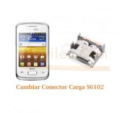 Cambiar Conector Carga Samsung Galaxy Y Duo S6102 - Imagen 1