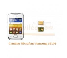 Cambiar Microfono Samsung Galaxy Y Duos S6102 - Imagen 1