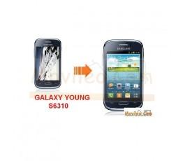 Cambiar Pantalla LCD (display) Samsung Galaxy Young S6310 - Imagen 1