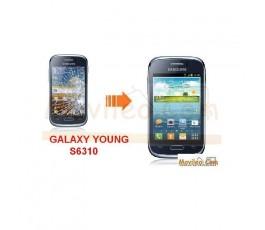 Cambiar Pantalla Tactil (cristal) Samsung Galaxy Young S6310 - Imagen 1