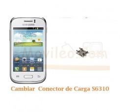 Cambiar Conector Carga Samsung Galaxy Young S6310 - Imagen 1