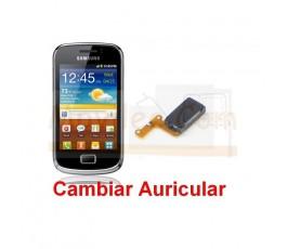 Cambiar Auricular Samsung Galaxy Mini 2 S6500 - Imagen 1