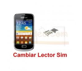 Cambiar Lector Sim Samsung Galaxy Mini 2 s6500 - Imagen 1