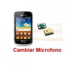 Cambiar Microfono Samsung Galaxy Mini 2 s6500 - Imagen 1