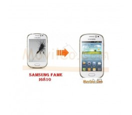 Cambiar Pantalla LCD (display) Samsung Galaxy Fame S6810 - Imagen 1