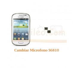 Cambiar Microfono Samsung Galaxy Fame S6810 - Imagen 1