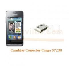 Cambiar Conector Carga Samsung Wave S7230 - Imagen 1