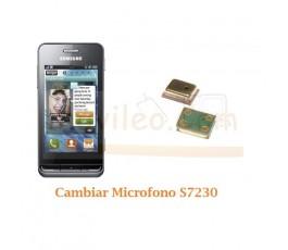 Cambiar Microfono Samsung Wave S7230 - Imagen 1