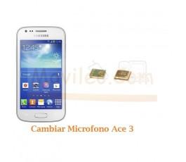 Cambiar Microfono Samsung Ace 3 S7275 - Imagen 1