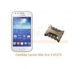 Cambiar Lector Sim Samsung Ace 3 S7275 - Imagen 1