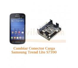 Cambiar Conector Carga Samsung Trend Lite S7390 - Imagen 1