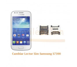 Cambiar Lector Sim Samsung Trend Lite S7390 - Imagen 1