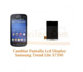 Cambiar Pantalla Lcd Display Samsung Trend Lite S7390 - Imagen 1