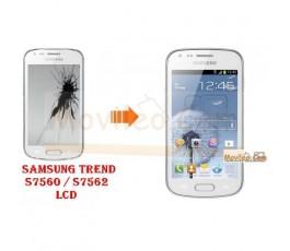 Cambiar Pantalla LCD (display) Samsung Galaxy Trend S7560 - Imagen 1