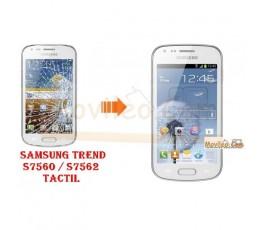 Cambiar Pantalla Tactil (cristal) Samsung Galaxy Trend S7560 - Imagen 1