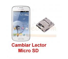 Reparar Lector Tarjeta de Memoria Samsung Galaxy Trand s7560 s7562 - Imagen 1