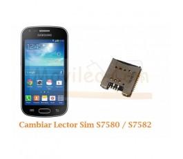 Cambiar Lector Sim Samsung Trend Plus S7580 S7582 - Imagen 1