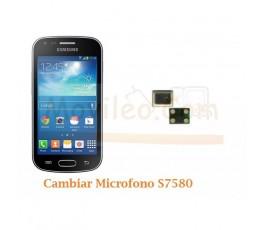 Cambiar Microfono Samsung Trend Plus S7580 S7582 - Imagen 1