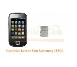Cambiar Lector Tarjeta Sim Samsung Galaxt 3 i5800 - Imagen 1